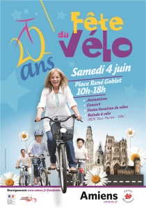FETE DU VELO 2016 - Affiche officielle AM